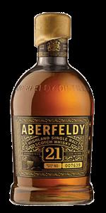 Aberfeldy 21 Years Old. Image courtesy Aberfeldy/John Dewar & Sons.