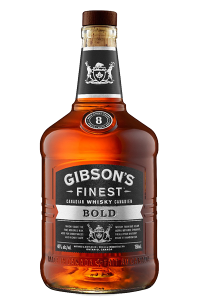 Gibson's Finest Bold Canadian Whisky. Image courtesy William Grant & Sons.