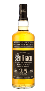 BenRiach 25 Years Old. Image courtesy BenRiach/Brown-Forman.