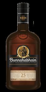 Bunnahabhain 25. Image courtesy Bunnahabhain/Distell.