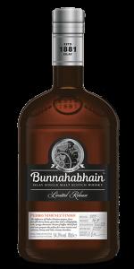 Bunnahabhain Pedro Ximénez Finish. Image courtesy Bunnahabhain/Distell.