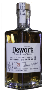 Dewar's Double Double 21 Years Old. Photo ©2019, Mark Gillespie/CaskStrength Media.