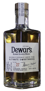 Dewar's Double Double 27 Years Old. Photo ©2019, Mark Gillespie/CaskStrength Media.