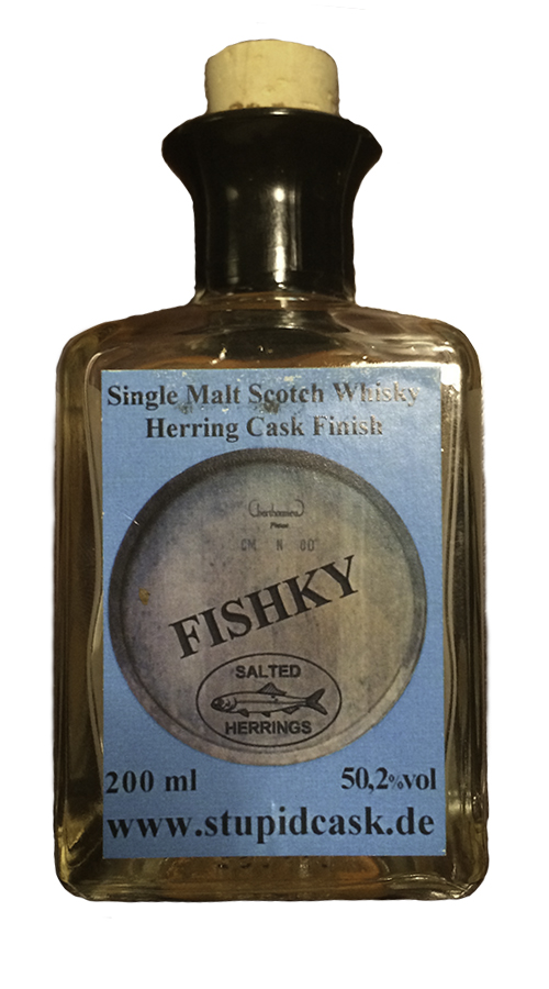 Fishky Herring Cask Finish. Photo ©2019, Mark Gillespie/CaskStrength Media.