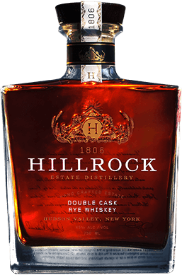 Hillrock Estate Double Cask Rye. Image courtesy Hillrock Estate Distillery.