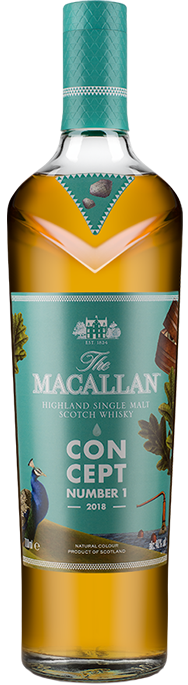 The Macallan Concept Number 1. Image courtesy The Macallan/Edrington.