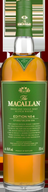 The Macallan Edition No. 4. Image courtesy The Macallan/Edrington.