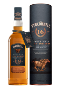 The Tyrconnell 16 Oloroso and Moscatel Cask Finish. Image courtesy The Tyrconnell/Beam Suntory.