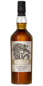 Cardhu Gold Reserve: House Targaryen Edition. Image courtesy Diageo.