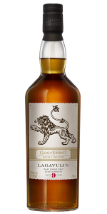 Lagavulin 9 Year Old: House Lannister Edition. Image courtesy Diageo.