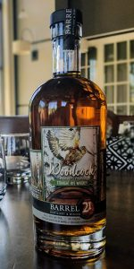 Woodcock Pennsylvania Straight Rye. Image courtesy Barrel 21 Distillery.