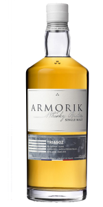 Armorik Triagoz French Single Malt Whisky. Image courtesy Distillerie Warenghem.