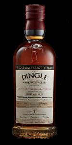 DIngle Single Malt Whiskey Batch #4 Cask Strength. Image courtesy Dingle Whiskey.