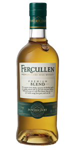 Fercullen Premium Blend. Image courtesy Powerscourt Distillery.