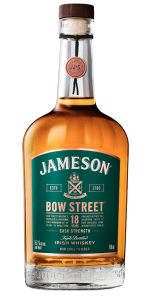 Jameson Bow Street 18 Years Cask Strength Batch #2. Image courtesy Irish Distillers.