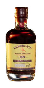 Redbreast Dream Cask Pedro Ximénez Edition. Image courtesy Irish Distillers.
