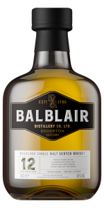 Balblair 12 Years Old. Image courtesy Balblair/International Beverage.