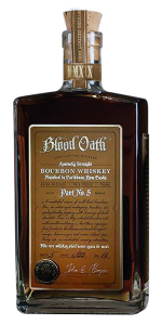 Blood Oath Pact No. 5 Bourbon. Image courtesy Lux Row Distillers/Luxco.