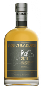 Bruichladdich Islay Barley 2011 Islay Single Malt. Image courtesy Bruichladdich.