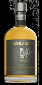 Bruichladdich Islay Barley 2011 Islay Single Malt. Image courtesy Bruichladdich.