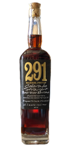 Distillery 291 Straight Bourbon. Image courtesy Distillery 291.