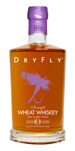 Dry Fly Port Finish Wheat Whiskey. Image courtesy Dry Fly Distilling.