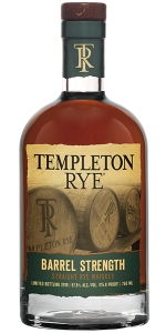 Templeton Rye Barrel Strength 2019 Edition. Image courtesy Templeton Rye Spirits LLC.