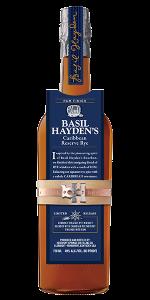 Basil Hayden's Caribbean Reserve Rye. Image courtesy Beam Suntory.