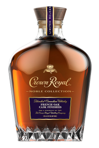 Crown Royal Noble Collection French Oak Cask Finished Canadian Whisky. Image courtesy Crown Royal/Diageo.