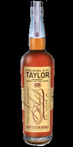 Col. E. H. Taylor Jr. Amaranth Bourbon. Image courtesy Buffalo Trace/Sazerac.
