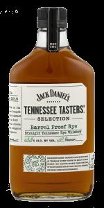 Jack Daniel's Tennessee Tasters' Selection Barrel Proof Rye. Image courtesy Jack Daniel's.
