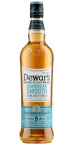 Dewar's Caribbean Smooth Blended Scotch Whisky. Image courtesy John Dewar & Sons/Bacardi.
