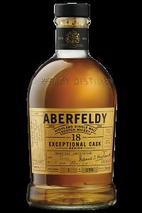 Aberfeldy 18 Exceptional Cask Series. Image courtesy Aberfeldy/John Dewar & Sons.