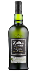 Ardbeg Traigh Bhan 19 Years Old. Image courtesy Ardbeg.