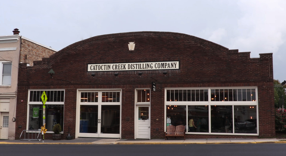 Catoctin Creek Distilling in Purcellville, Virginia. Photo ©2019, Mark Gillespie/CaskStrength Media.