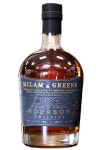 Milam & Greene Triple Cask Straight Bourbon. Image courtesy Provision Spirits.