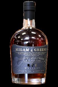 Milam & Greene Port Finished Rye Whiskey. Image courtesy Provision Spirits.
