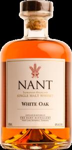 Nant White Oak Single Malt Whisky. Image courtesy Nant Distillery.