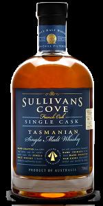 Sullivan's Cove French Oak Single Cask #TD268. Image courtesy Sullivan's Cove.