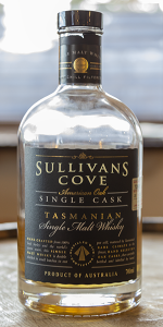Sullivan's Cove American Oak Single Cask. Photo ©2019, Mark Gillespie/CaskStrength Media.