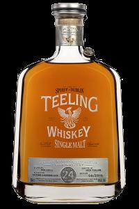 Teeling Whiskey 24 Year Old Single Malt. Image courtesy Teeling Whiskey Company.