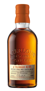 Aberlour A'Bunadh Alba Scotch Whisky. Image courtesy Aberlour/Chivas Brothers Pernod Ricard.