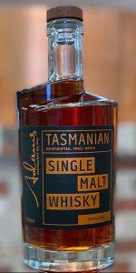 Adams Port Cask Tasmanian Single Malt. Image courtesy Adams Distillery.