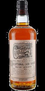 Craigellachie 19 Exceptional Cask Series. Image courtesy John Dewar & Sons/Bacardi.
