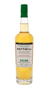 Daftmill 2006 Summer Batch USA Release. Image courtesy Daftmill Distillery.