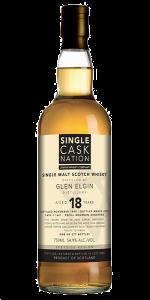 Single Cask Nation Glen Elgin 18. Image courtesy Single Cask Nation.