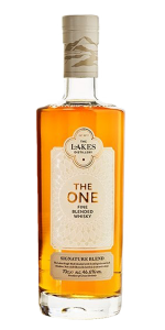 The One Signature Blend. Image courtesy The Lakes Distillery.
