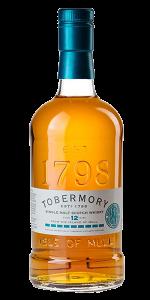 Tobermory 12 Manzanilla Cask Finish. Image courtesy Distell.