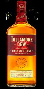 Tullamore D.E.W. Cider Cask Finish. Image courtesy Tullamore D.E.W./William Grant & Sons.