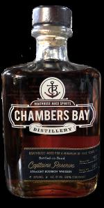 Chambers Bay Distillery Captain's Reserve Bourbon. Photo ©2020, Mark Gillespie/CaskStrength Media.